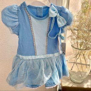 Disney Cinderella baby costume dress bow